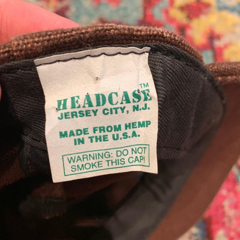 Image of Phish Original Vintage 1990's Hemp Hat! Brand NEW!  - Brown