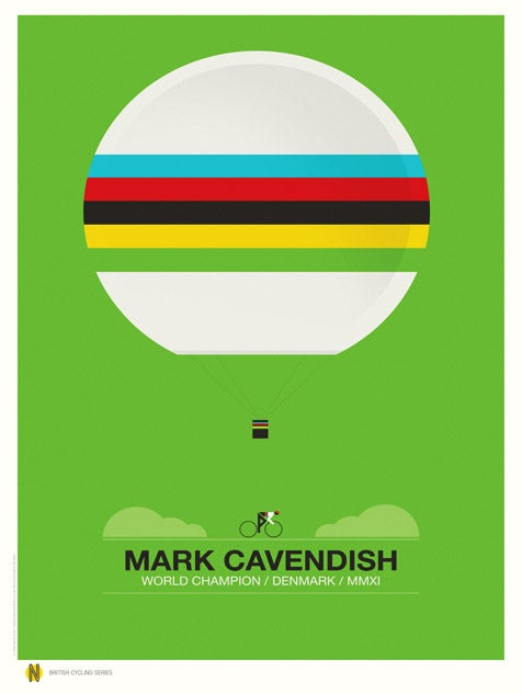 Image of Mark Cavendish World Champion (Sale/Return)