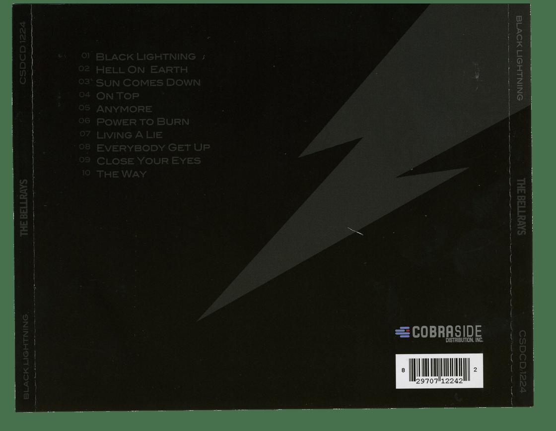 Image of Black Lightning - CD