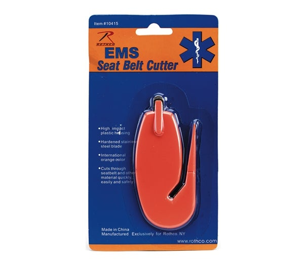 Image of EMS Seat Belt Cutter / Lifesaver Tool