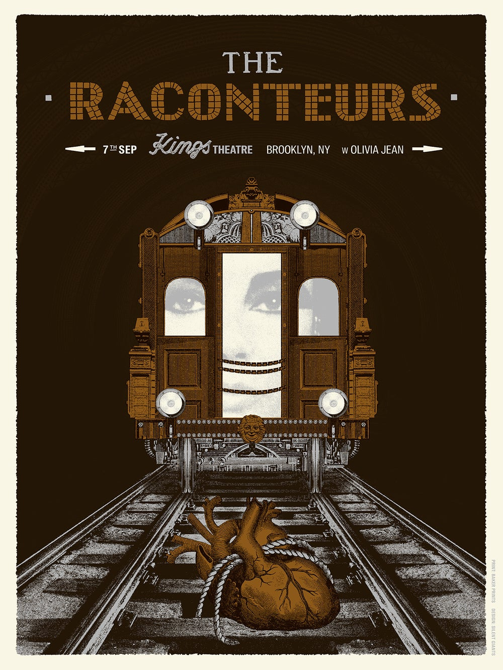 Image of The Raconteurs / Brooklyn 2019
