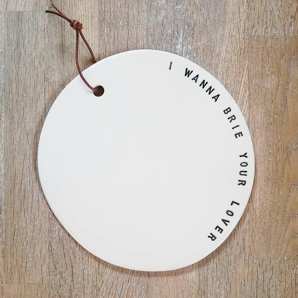 Osteplatte, porcelæn