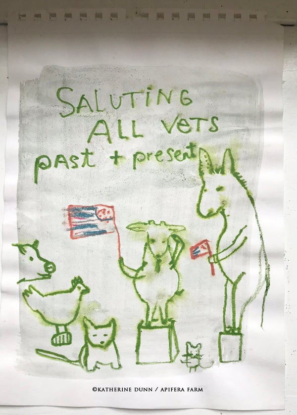 Image of Doodle: Saluting All Vets