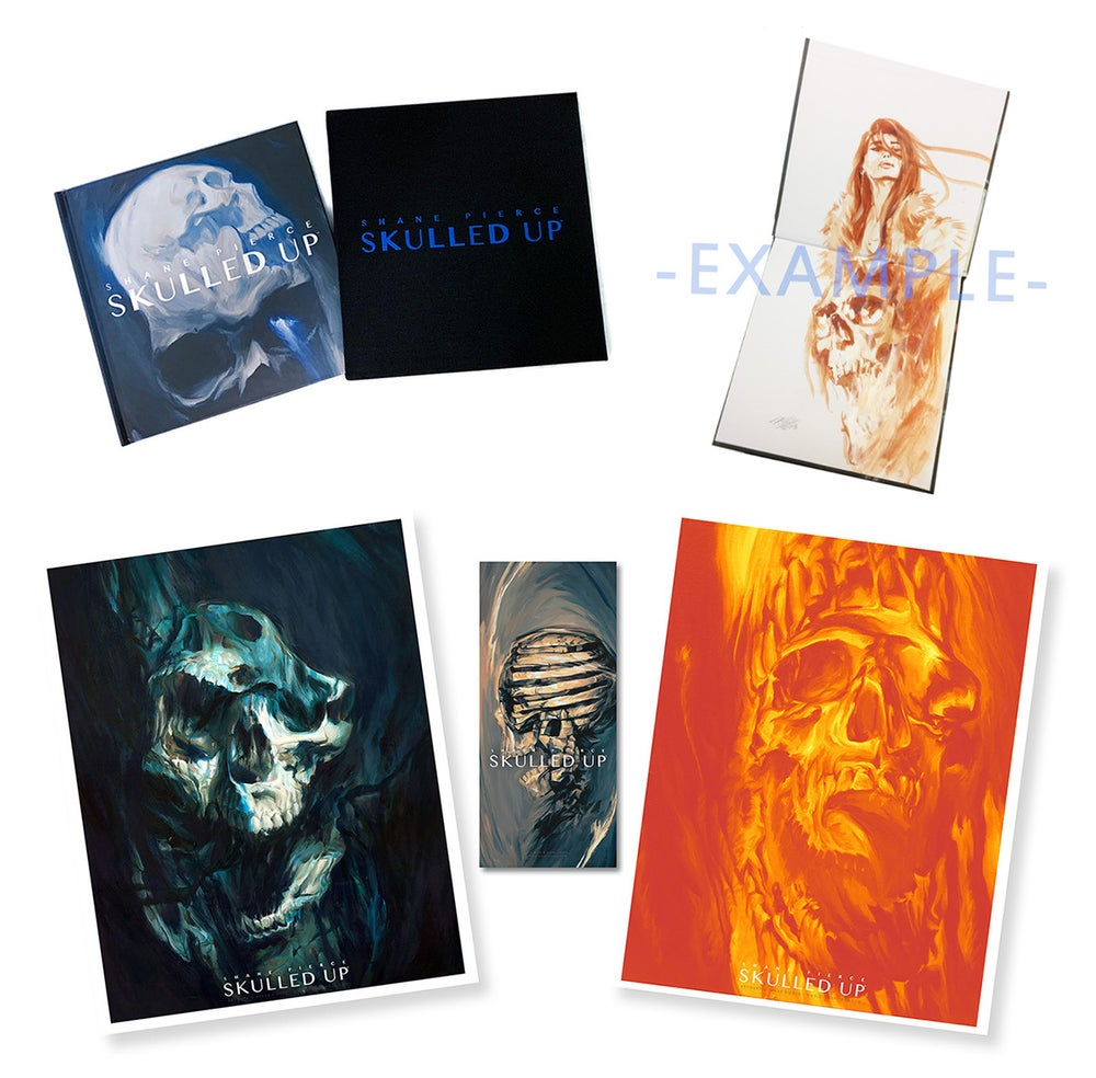 Image of Skulled Up Artist Painted Edition - Four Left