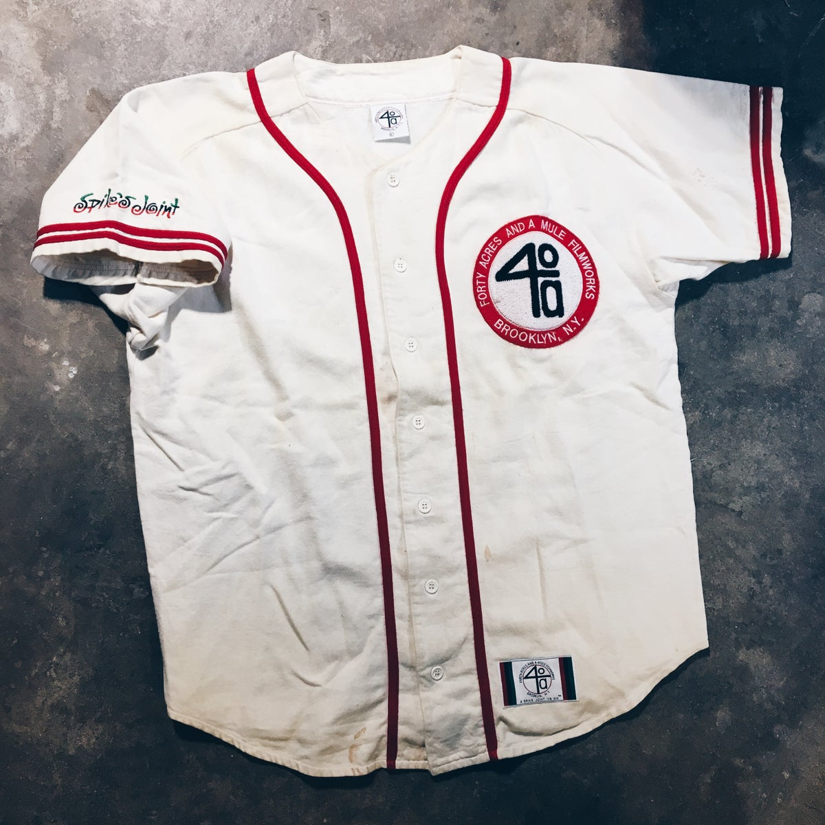 Image of Original 90's Spike Lee 40 Acres And A Mule Jersey.