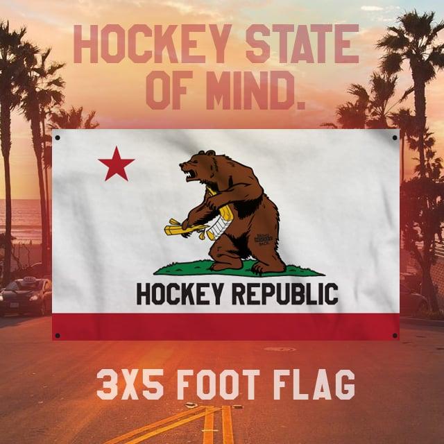 Image of Hockey State of Mind 3x5 Flag