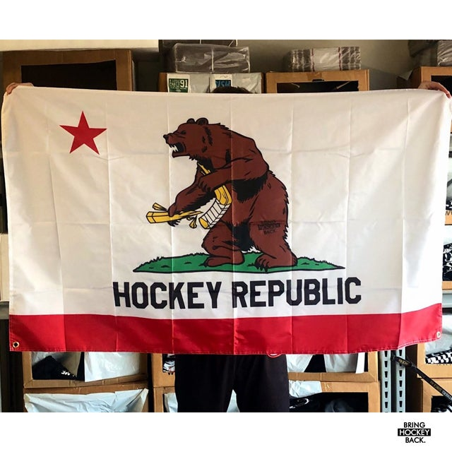 Hockey State of Mind 3x5 Flag [FREE SHIPPING]