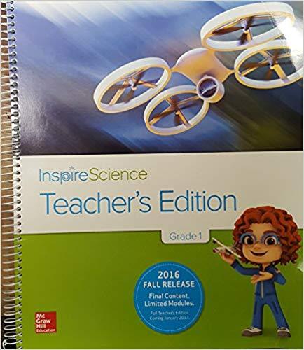 Image of 1st Grade Teacher Edition InspireScience