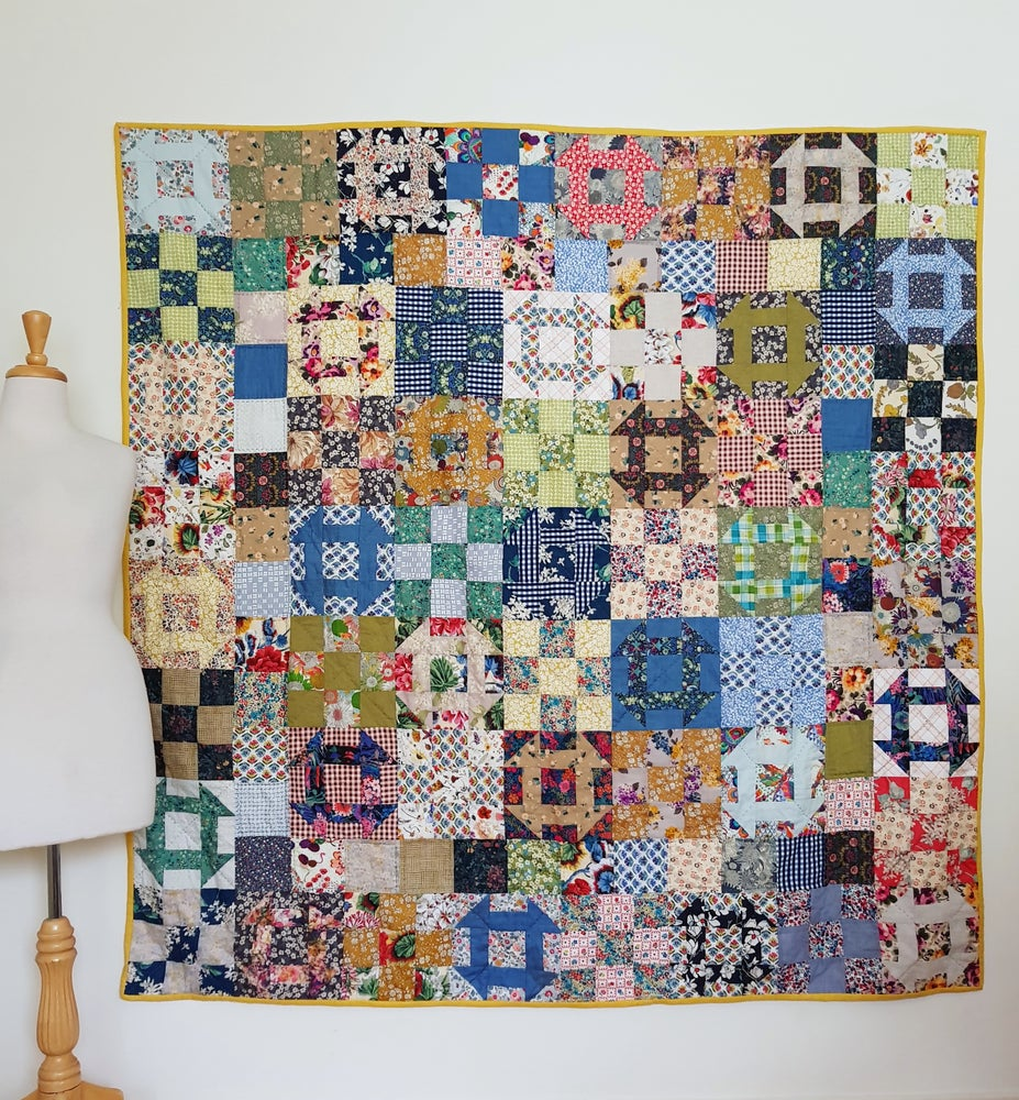 Image of Wintersweet quilt pattern