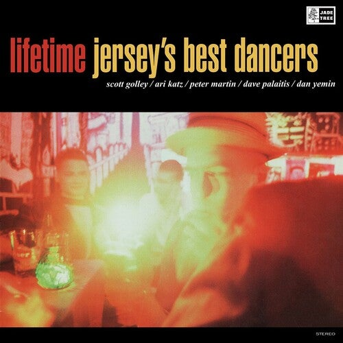 Image of (UPCOMING RELEASE) Lifetime - Jersey's Best Dancers LP (clear vinyl)