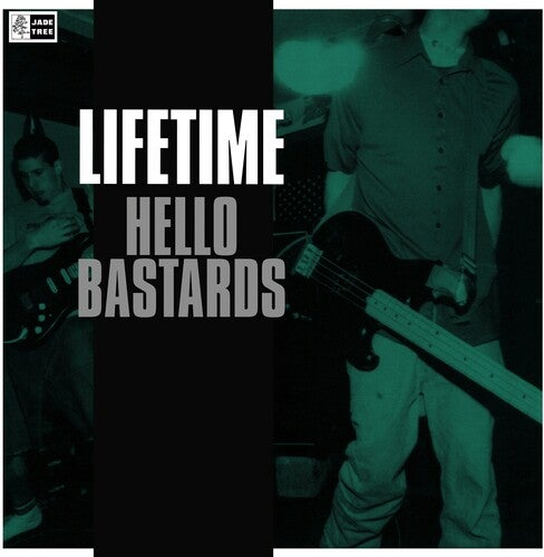 Image of (UPCOMING RELEASE) Lifetime - Hello Bastards LP (clear vinyl)