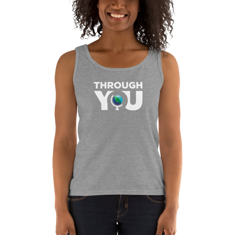 Image of Women's Grey Missy Fit Tank Top