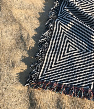 Image of Triangles Blanket