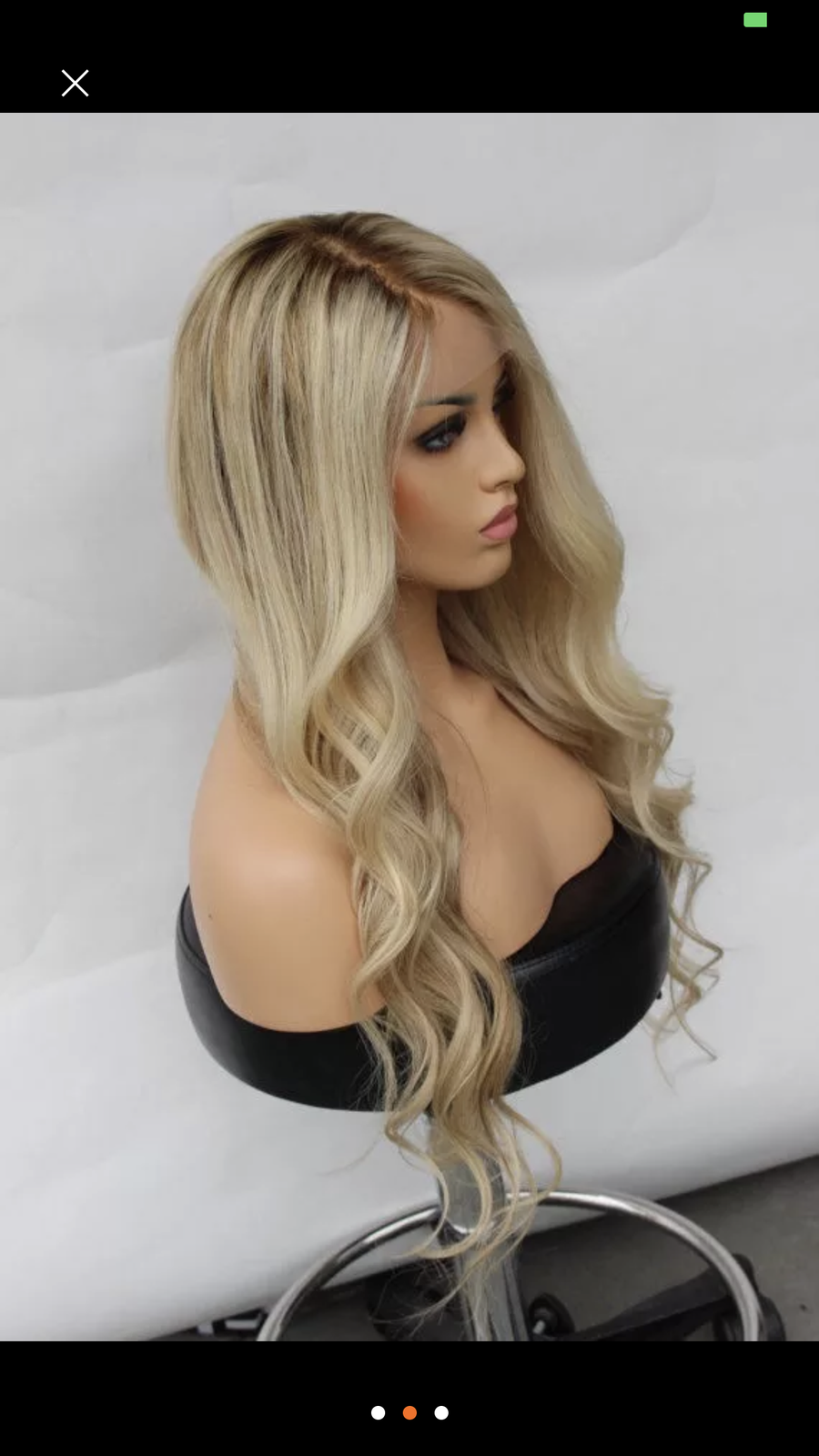 "Image of 20"" Glam Blonde Unit"