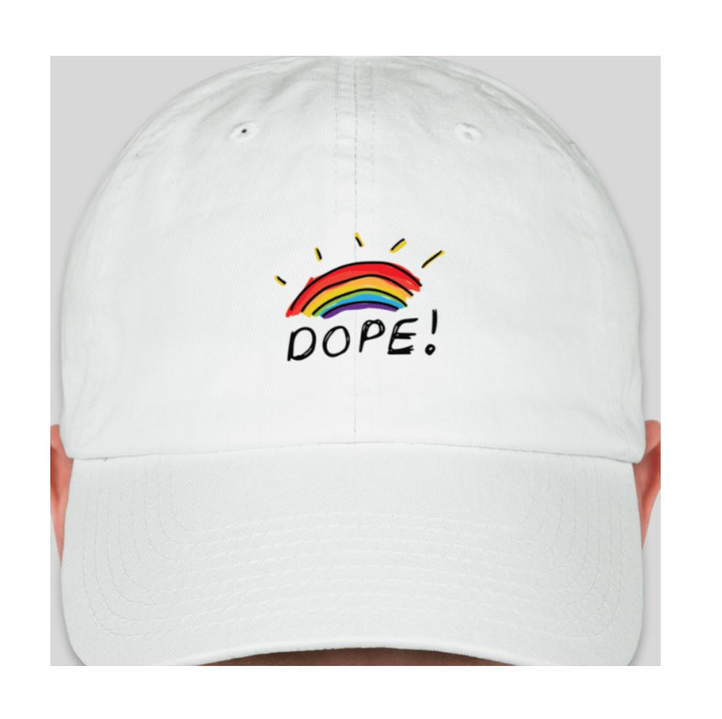 Image of Dope Rainbow Hat