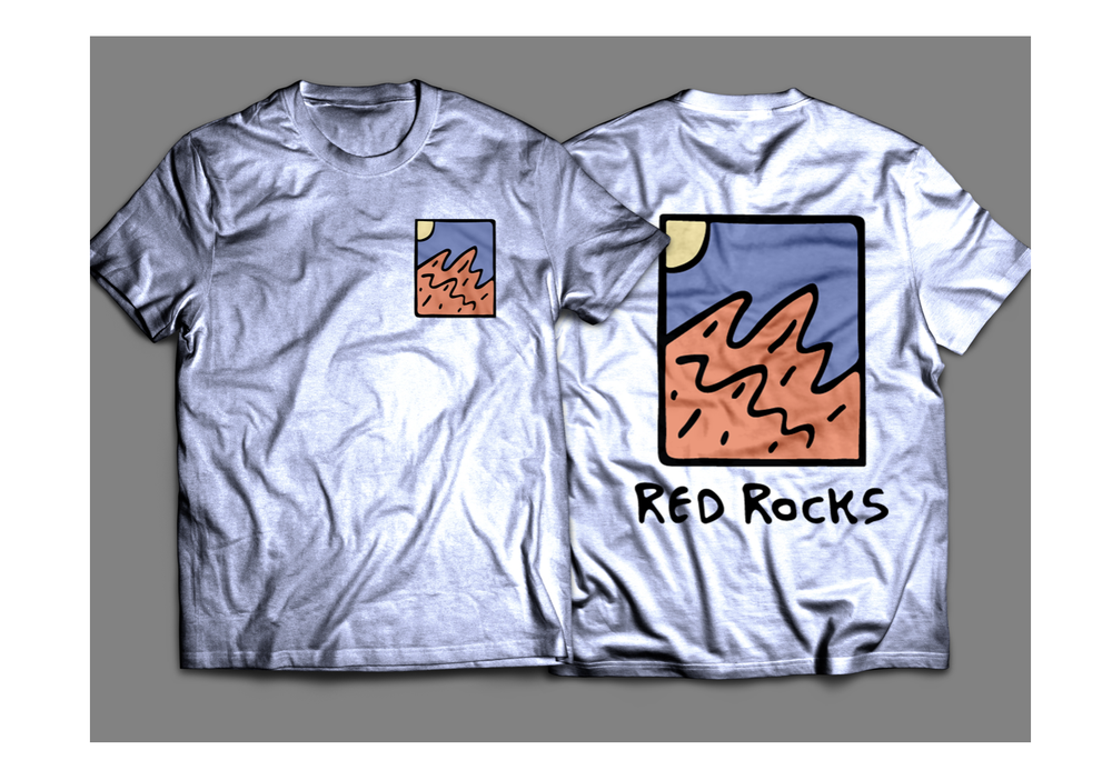 Image of Red Rocks Shirt