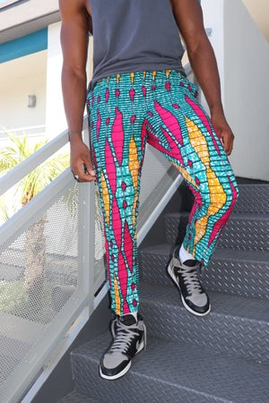 Image of The kendu pants- color wave