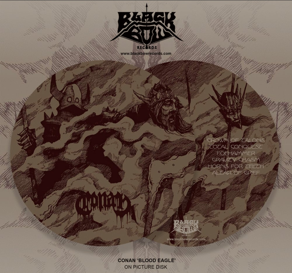 Image of CONAN - Blood Eagle Picture Disk
