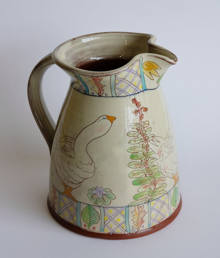 Image of Maureen Minchin Goose Jug