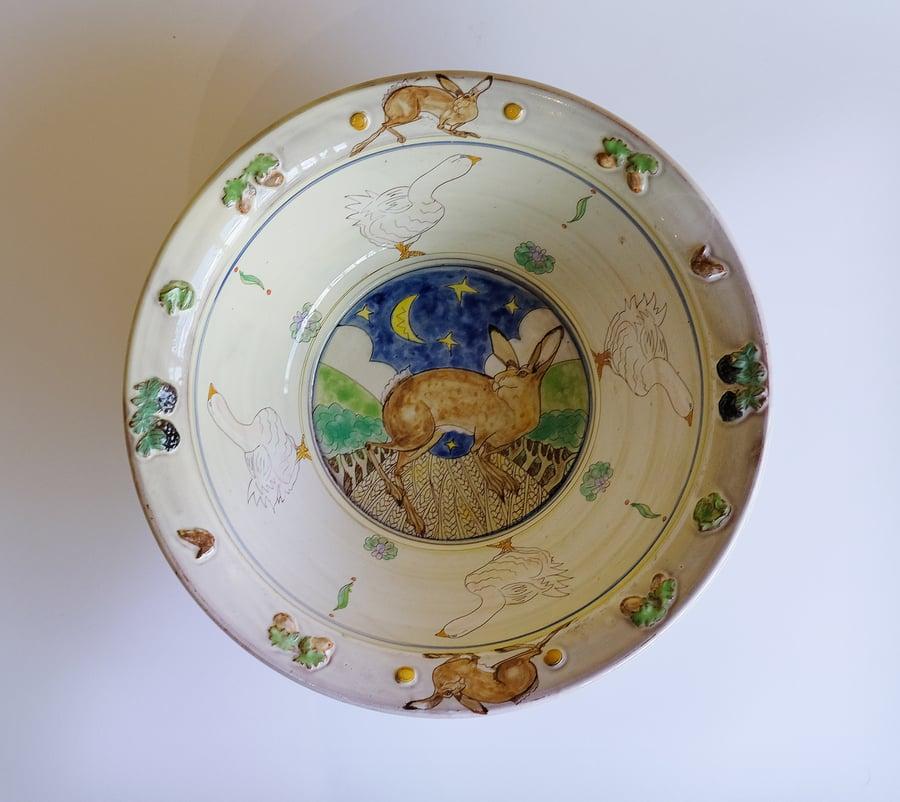 Image of Maureen Minchin Hare Bowl