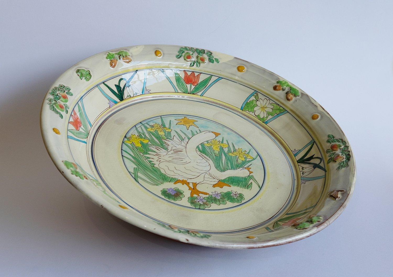 Image of Maureen Minchin Large Geese Plate