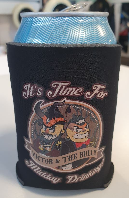 Image of Midday Drinking Beer Can Cooler - Koozie