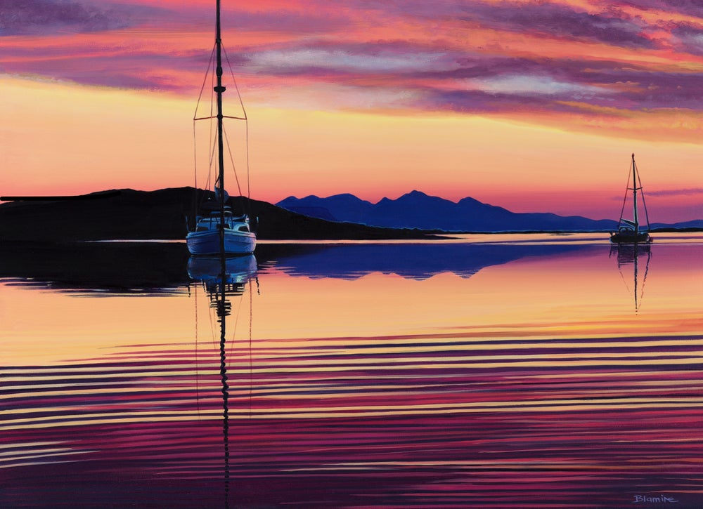 Image of 'Still here' Arisaig giclée print ALL sizes