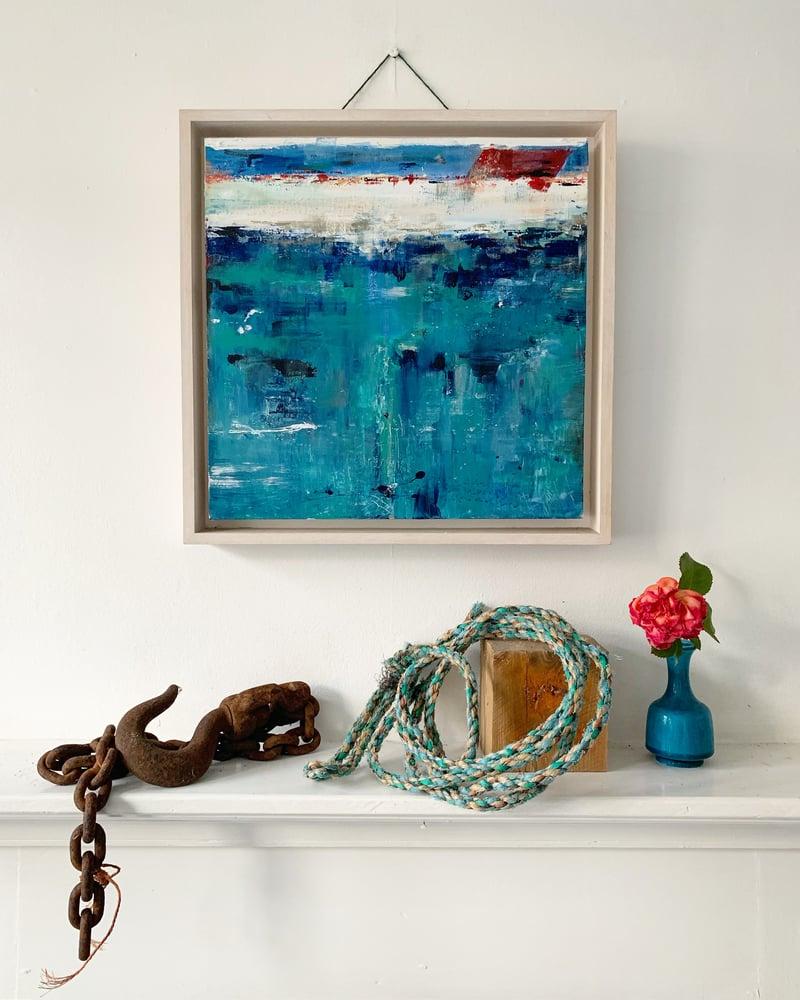 Image of NEWLYN BLUE ( Framed )