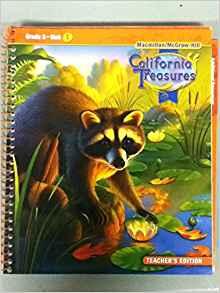 Image of Grade 3 Teachers Edition California Treasures Reading (Macmillan/McGraw-Hill)