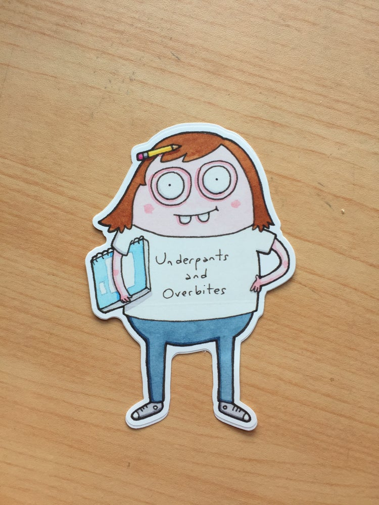 "Image of ""Little Artist"" Vinyl Sticker"