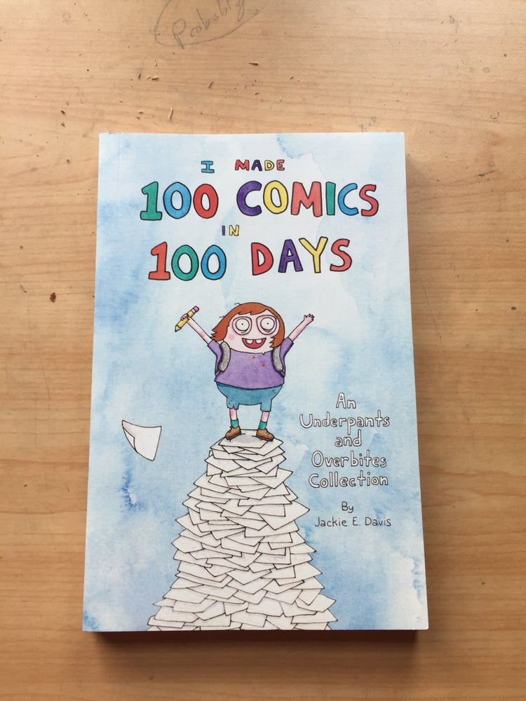 "Image of ""I Made 100 Comics in 100 Days"" Book (2nd Edition)"