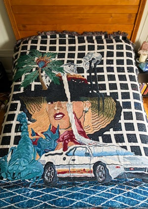 Image of LA woven tapestry PREORDER