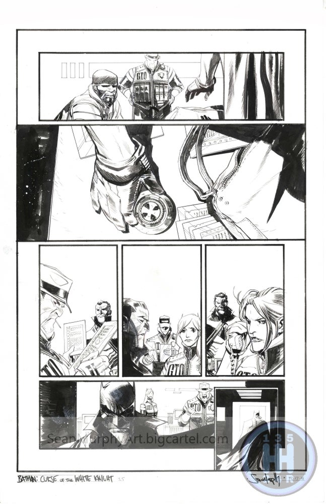 Image of Batman: Curse of the White Knight #3, page 5