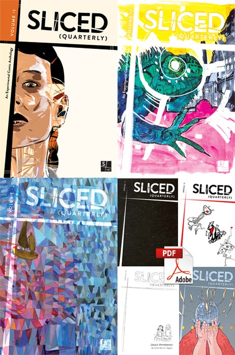 Image of Sliced Quarterly COMPLETE DIGITAL COLLECTION