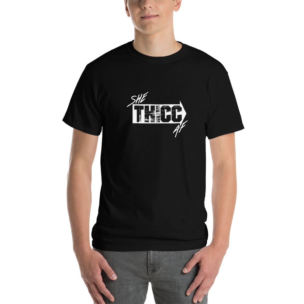 Image of SHE THICC AF SHIRT - BLACK