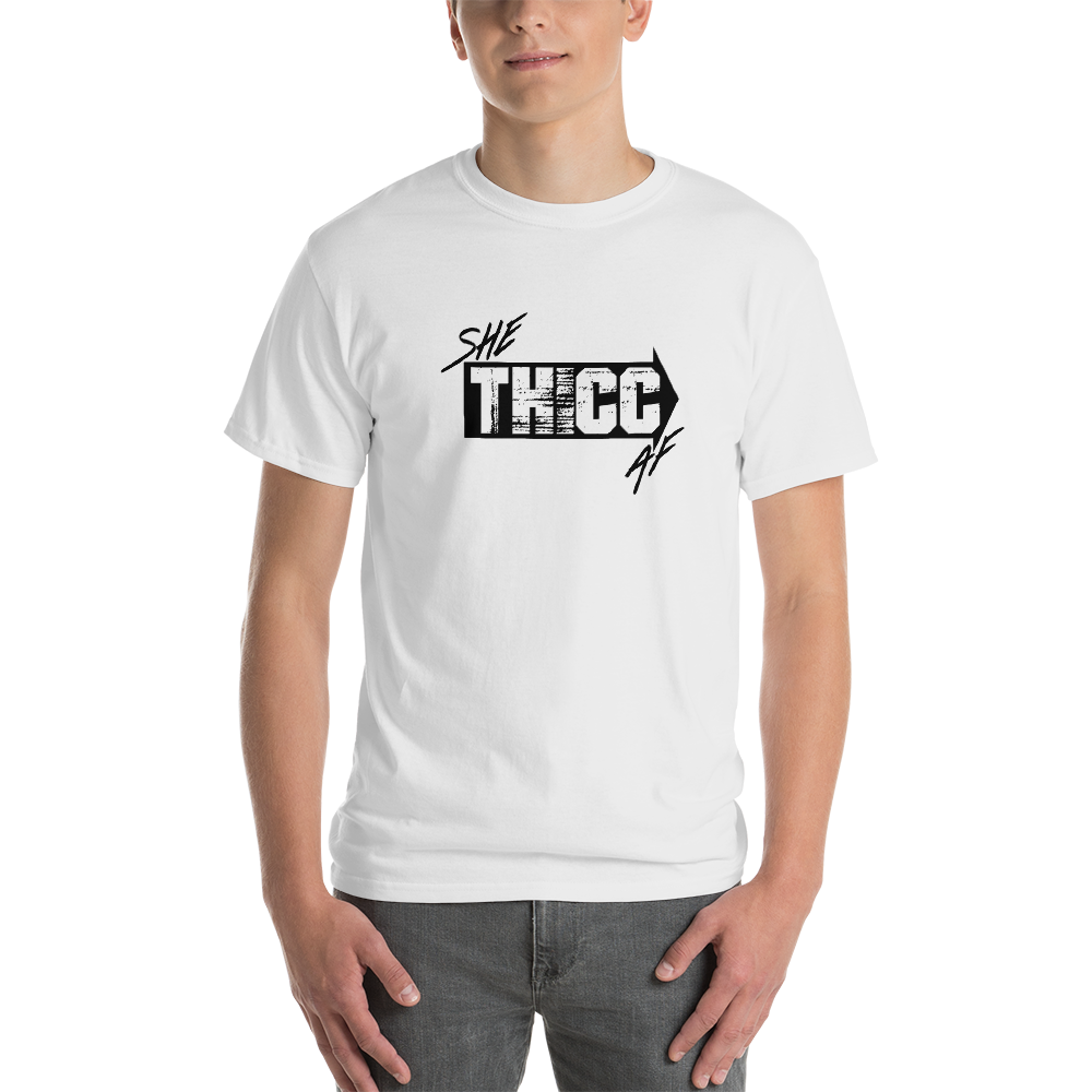 Image of SHE THICC AF SHIRT - WHITE