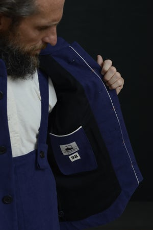 Image of CHINWEST JACKET BLUE £340.00