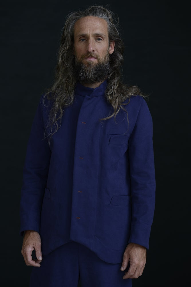 Image of CHINWEST JACKET BLUE