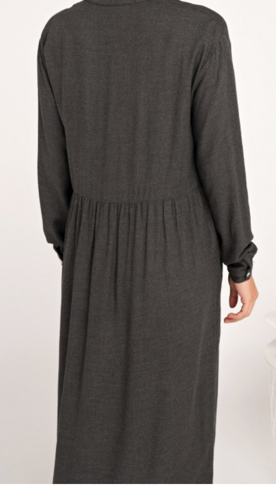 Image of Robe longue twill viscose FLORENCE 169€ -60%