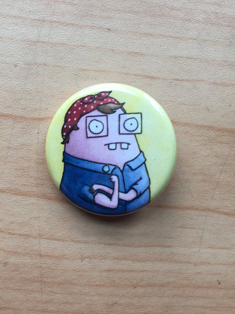 """Image of """"Rosie the Riveter"""" Pin"""