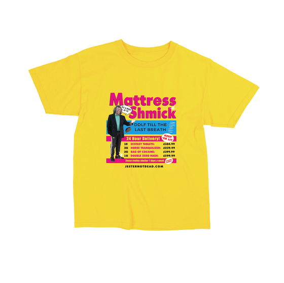 "Image of ""MATTRESS SHMICK"" TSHIRT"