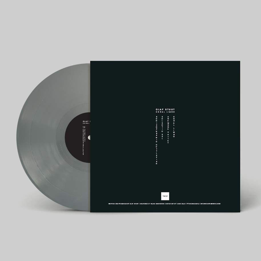 "Image of Olaf Stuut 'Coral Limbo' Ltd. Edition 12"" Grey Vinyl"