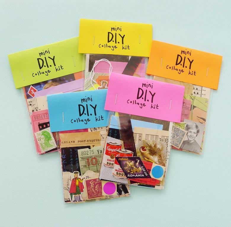 Image of mini DIY collage kit