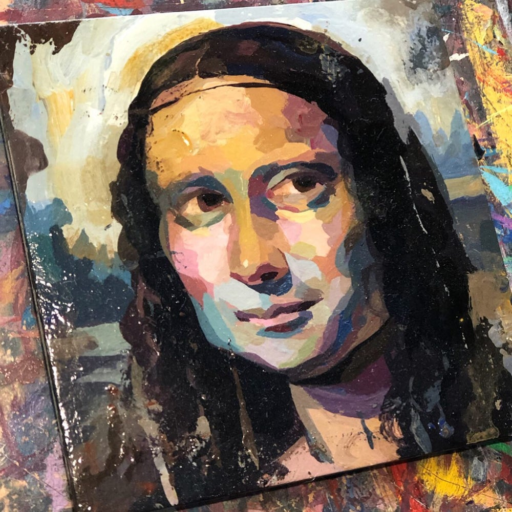 Image of Mona Lisa Study