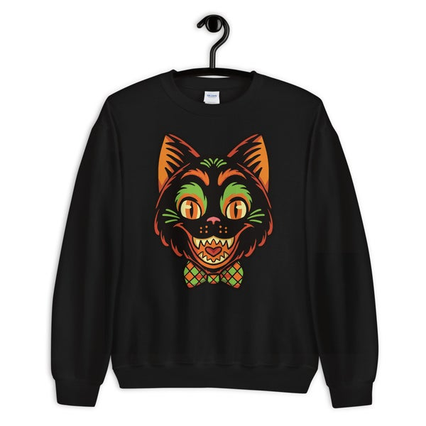Image of Vintage Cat Unisex Sweater