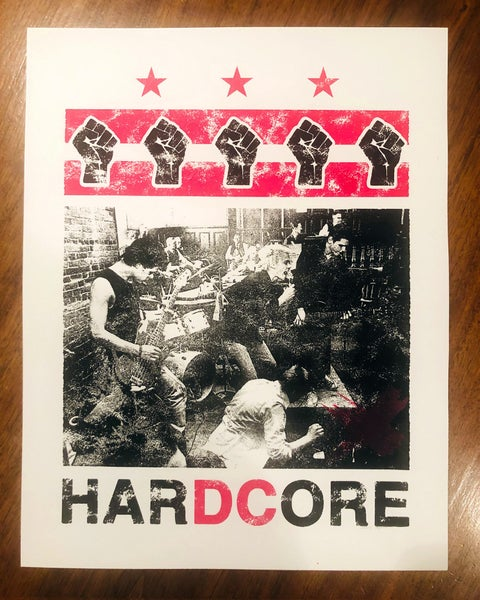 Image of HarDCore Print - Red Version