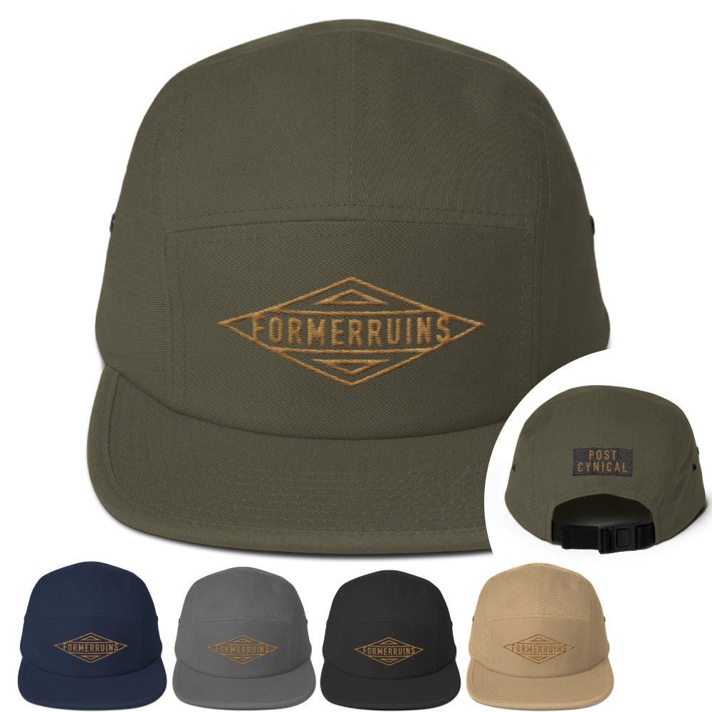 The Connell Camp Hat w/ Post-Cynical Patch