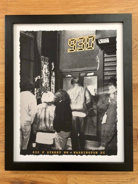 Image of Nightclub 9:30 Silk Screened Art Print - Showtime - BLEMISHED