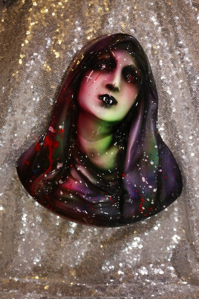 Image of Eat Acid See God Wall Hanging Large Mary