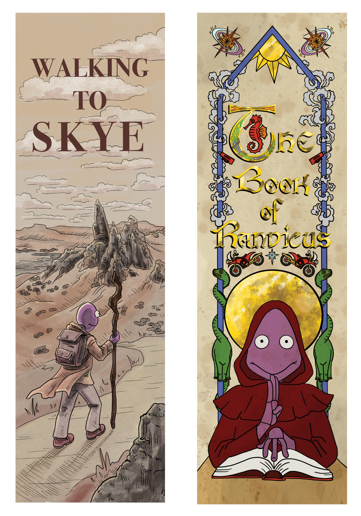 Image of Feltface Bookmark Two Pack